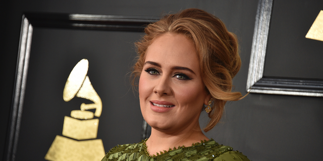 Adele at the 59th Grammy Awards in聽February 2017.聽