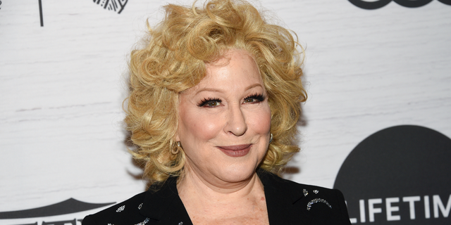 Bette Midler called people who won't wear a mask 'demented.'