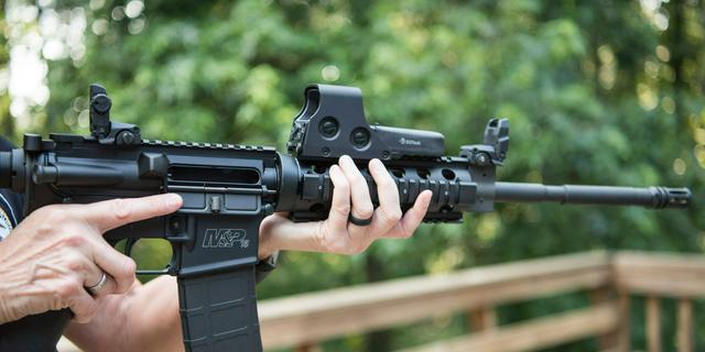 An AR-15. (AP Photo/Lisa Marie Pane, File)