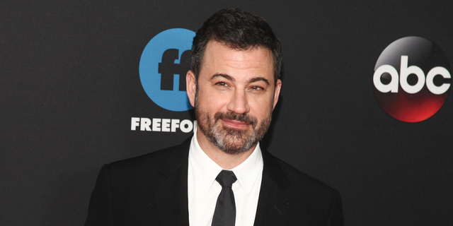 """""""Maybe he's running for president so that he can get away from all the people who hate him in New York,"""" Kimmel told his audience."""