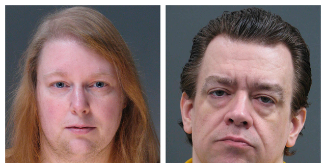 """FILE - This combination of undated file photos provided Friday, March 29, 2019, by the Bucks County District Attorney's Office shows Sara Packer, left, and Jacob Sullivan. Child welfare agencies in Pennsylvania missed one """"red flag"""" after another in the case of a teenager who endured years of physical, mental and sexual abuse before her 2016 rape and murder, according to a report released Monday, April 2. (Bucks County District Attorney's Office via AP)"""