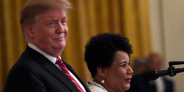 Alice Johnson, Dawn Freeman praise Trump on criminal justice reform, pardons: 'I am fully restored' 9