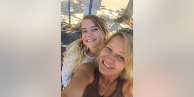 Dawn pictured with her daughter, Taylor.