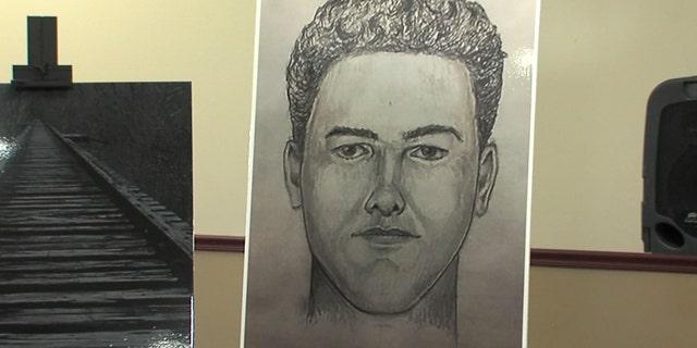 A new sketch of the suspected Delphi killer.
