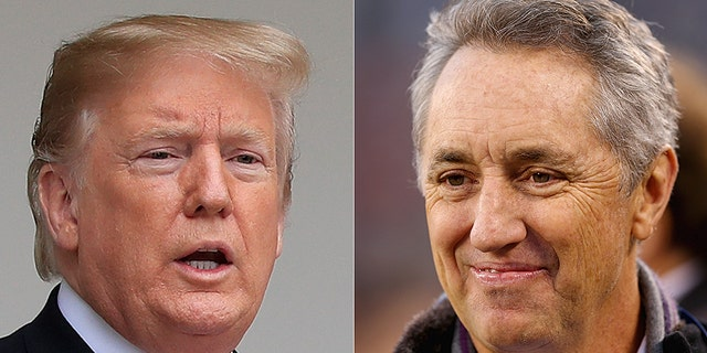President Trump is accused of cheating at golf by sportswriter Rick Reilly.