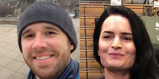 Gabrielle Wallace, 31, and Eric Desplinter, 33, were found alive on Wednesday five days after they were reported missing.