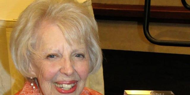 Fay McKenzie in 2012. — Courtesy of theMcKenzie and Waldman families.