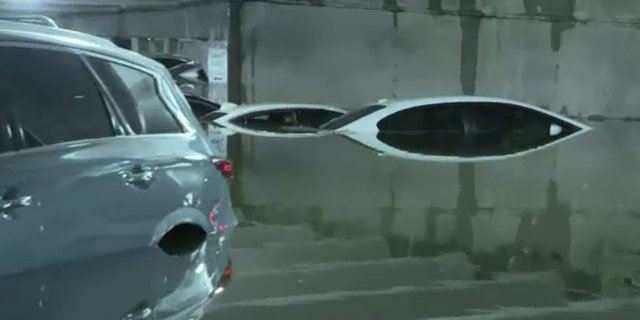 Heavy rains in the Dallas/Fort Worth area took their toll on the ground-floor of Garage A and the lower-level ground transportation area at Dallas Love Field.