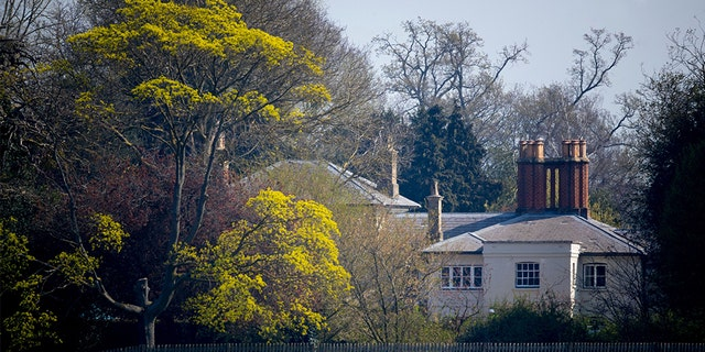 A view of Frogmore Cottage in Windsor, U.K.from 2019. (REX/Shutterstock)