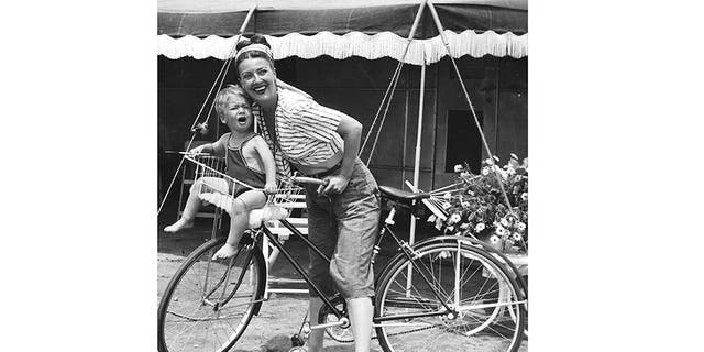 Gypsy Rose Lee with her son. — Courtesy of Erik Lee Preminger