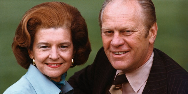 Former President Gerald Ford and First Lady Betty Ford are interred at the Gerald R. Ford Presidential Library and Museum in Grand Rapids, Michigan.