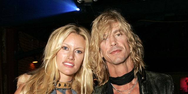 "Susan Holmes and Duff McKagan during Rip Curl Present ""Sand & Glam"" Benefiting Heal the Bay - Inside at Club 1650 in Hollywood. (Photo by Chris Weeks/WireImage)"