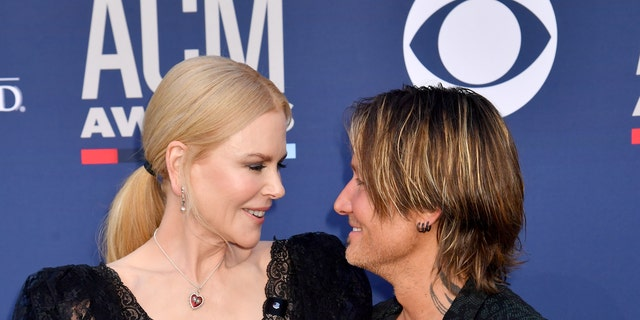 Nicole Kidman and Keith Urban attend the 54th Academy Of Country Music Awards at MGM Grand Hotel & Casino on April 07, 2019 in Las Vegas, Nevada.