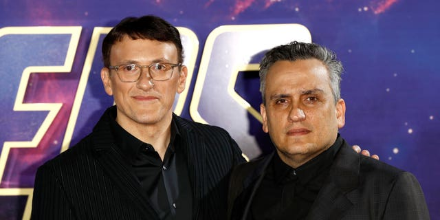 "Directors Anthony Russo and Joseph Russo attend the ""Avengers Endgame"" UK Fan Event at the Picturehouse Central on April 10, 2019 in London, England."