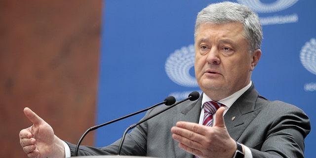 Ukraine's President Petro Poroshenko, who was elected to office in 2014