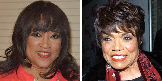 'Sister, Sister' star Jackée Harry, left, claims she was slapped by late singer Eartha Kitt after allegedly unknowingly sleeping with Kitt's boyfriend.