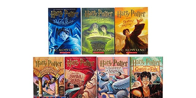 The complete 'Harry Potter' book series.