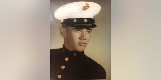 A young R. Lee Ermey in the Marines. — Courtesy of Betty Ermey