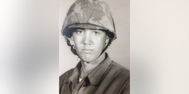 A young R. Lee Ermey.