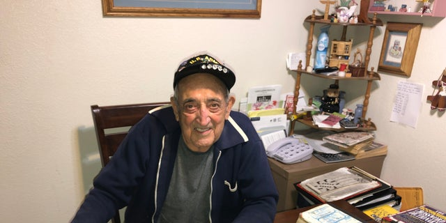 "Onofrio ""No-No"" Zicari, 96, stormed Omaha Beach on D-Day during World War II."