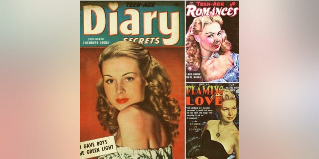 Magazine covers featuring Joi Lansing. — Courtesy of Alexis Hunter