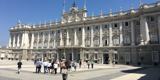 The Plaza Mayor, once the major plaza of Old Madrid, continues to be a major tourist destination.