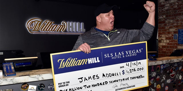 James Adducci, 39, won $1.2 million on Sunday after Tiger Woods won his fifth-ever Masters golf tournament.