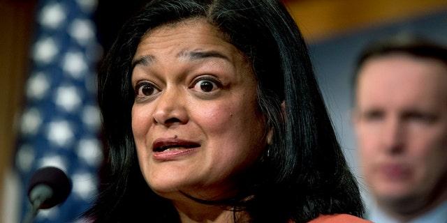 U.S. Rep. Pramila Jayapal, D-Wash. (Associated Press)