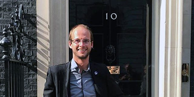 Josh Bratchley was honored by British Prime Minister Theresa May for his role in last year's Thai cave rescue