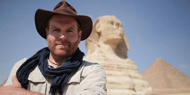 Josh Gates will explore an Egyptian tomb live.