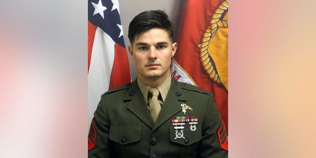 Marine Corps Staff Sgt. Joshua Braica.