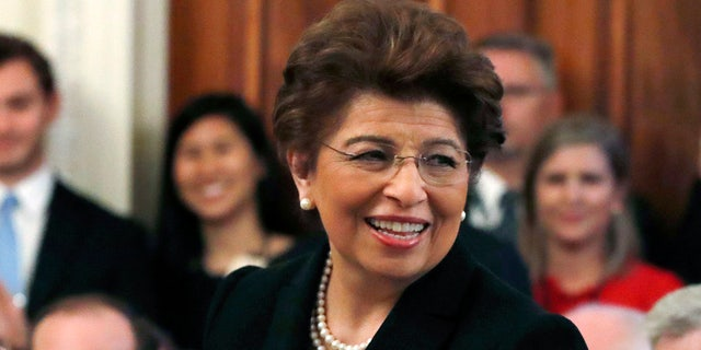 President Trump on Thursday said he would be nominating Jovita Carranza to head the Small Business Administration (SBA).