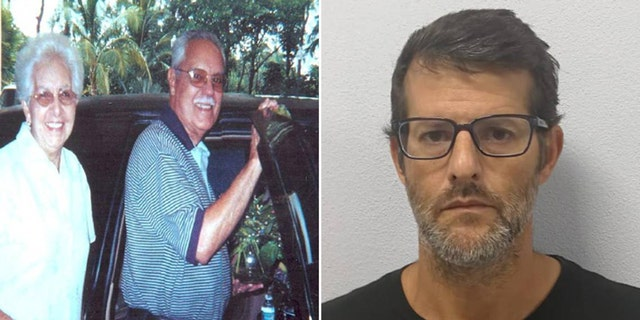 Olga and Victor Lisabet, left were killed by Henry de la Hoz, right, in a drunken-driving crash back in 2003. De la Hoz was captured in Costa Rica over 15 years later.