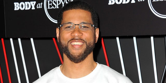 ESPN Host and commentator Michael Smith is pictured here on July 11, 2017. After signing a $10 million contract two years ago with ESPN, today he has rarely been on-air, the New York Post reports.
