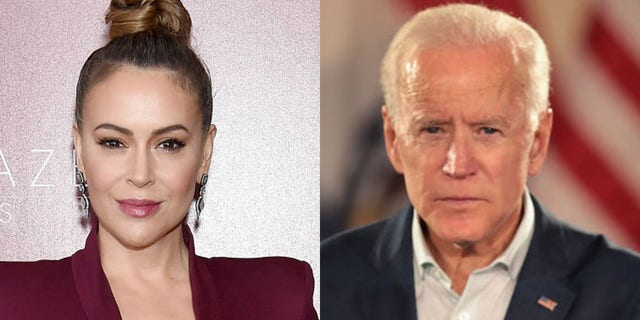 Alyssa Milano is explaining her silence on Vice President Joe Biden's sexual assault allegation.