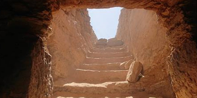 The rock-cut tomb has revealed its secrets. (Egyptian Ministry of Antiquities)