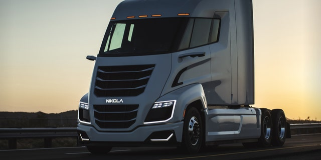 The Nikola Two was primarily designed for American trucking companies.