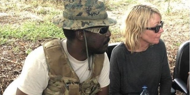 Kimberly Sue Endicott and her guide, Jean-Paul Mirenge Ramezo, were held captive for five days.