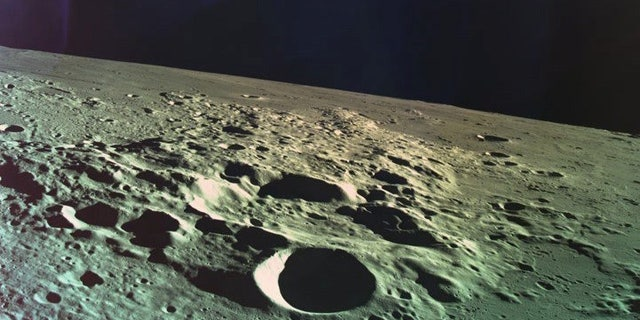 This was the last photo that the Beresheet spacecraft captured before it crashed into the lunar surface on April 12, 2019.