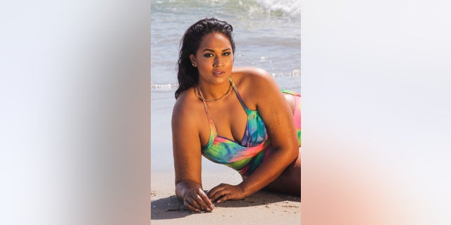 Veronica Pome'e says she's grateful to appear on the pages of 2019's Sports Illustrated Swimsuit Issue.