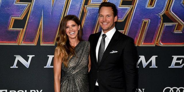 "LOS ANGELES, CALIFORNIA - APRIL 22: Katherine Schwarzenegger and Chris Pratt attends the World Premiere of Walt Disney Studios Motion Pictures ""Avengers: Endgame"" at Los Angeles Convention Center on April 22, 2019 in Los Angeles, California."