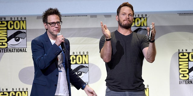 Chris Pratt revealed that he's thrilled to work with director James Gunn again on 'Guardians of the Galaxy 3.'