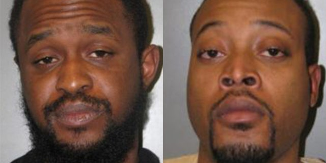 Maryland cops have accused Scott Roberson (l), 25, and Jovan Crawford, 27, with assaulting a West African immigrant for wearing a MAGA hat over the weekend.