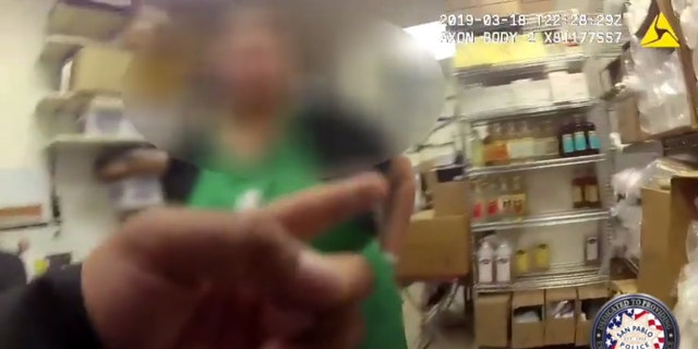 Westlake Legal Group SanPablo2 Police threaten to arrest Starbucks customer after mistaking her for different woman, body-cam footage shows Michael Bartiromo fox-news/food-drink/drinks/coffee fox news fnc/food-drink fnc article 7fd4beae-bc93-593c-a655-a8ba6d976bbd