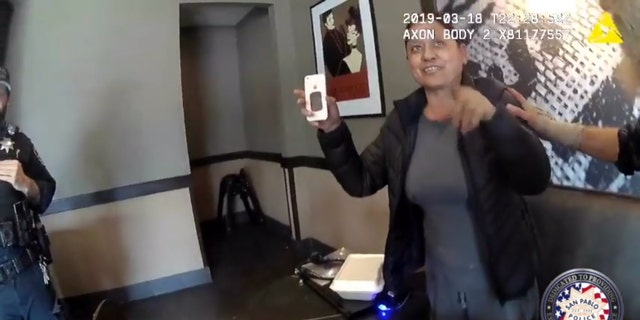 Westlake Legal Group SanPablo3 Police threaten to arrest Starbucks customer after mistaking her for different woman, body-cam footage shows Michael Bartiromo fox-news/food-drink/drinks/coffee fox news fnc/food-drink fnc article 7fd4beae-bc93-593c-a655-a8ba6d976bbd