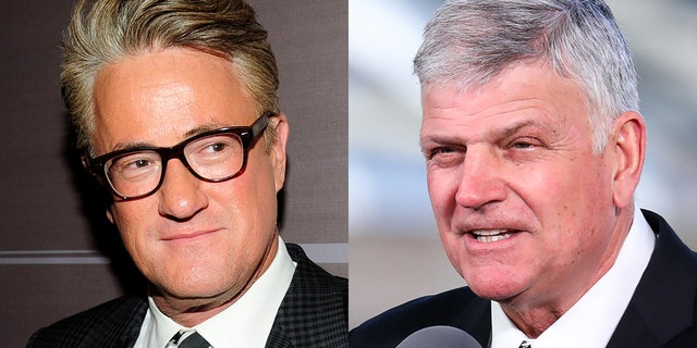 "MSNBC's ""Morning Joe"" host Joe Scarborough took evangelist Rev. Franklin Graham to task Thursday, calling him a ""disgrace"" for recent statements over 2020 presidential candidate Pete Buttigieg's sexuality."