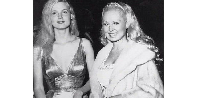 Joi Lansing (right) with Alexis Hunter. — Courtesy of Alexis Hunter