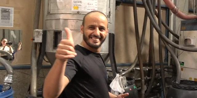 Sofian Dagger,Palestinian employee at Twitoplast