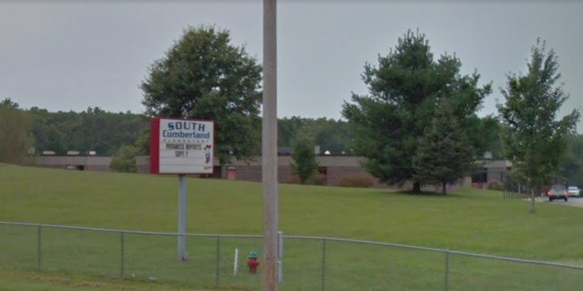 Two students at South Cumberland Elementary School were arrested after they plotted a school shooting, officials said.