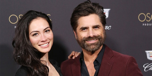 John Stamos and his wife Caitlin McHugh reportedly had quite the experience in the moments leading up to their son's birth last year.